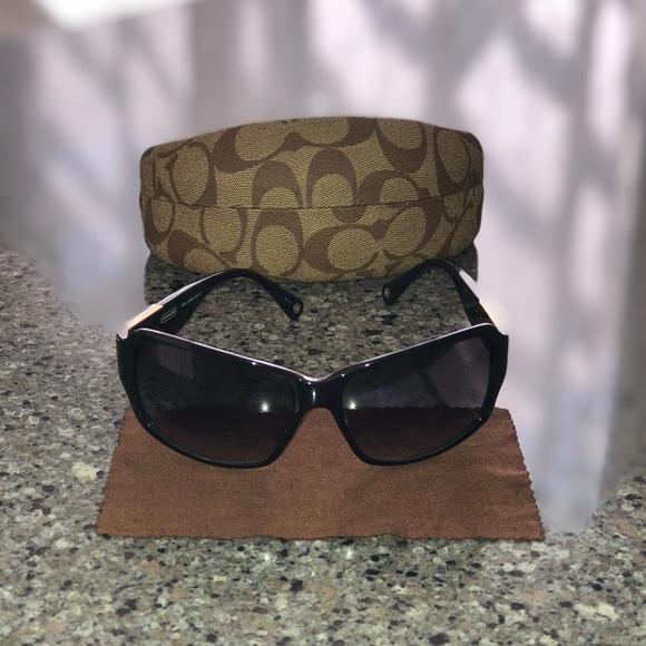 e4f29d8c7b60 ... clearance coach sunglasses nina s494 black baea9 8cff6